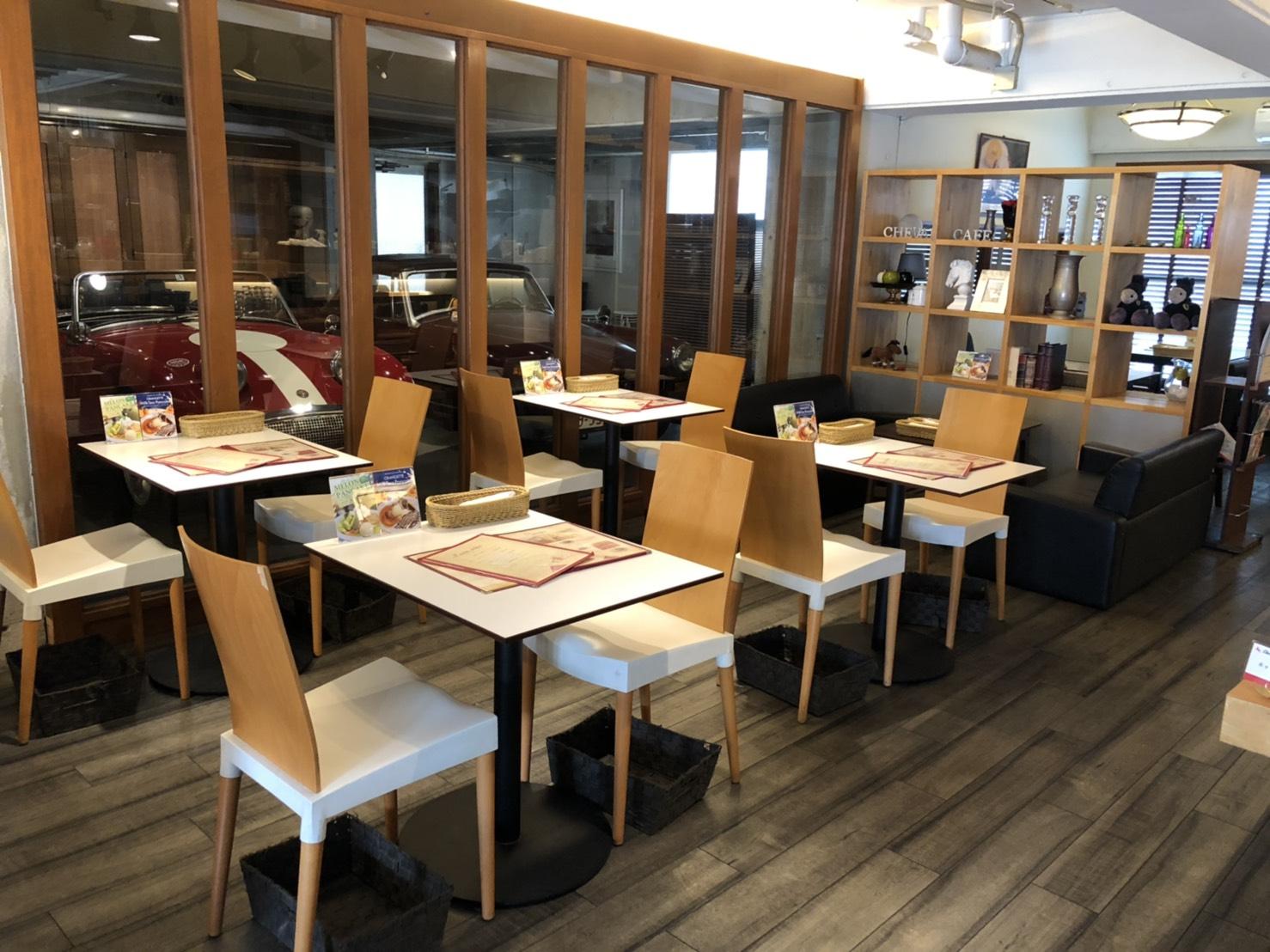 2019/6/12 Cheval Cafe (シュバルカフェ) Googleストリートビュー屋内版撮影
