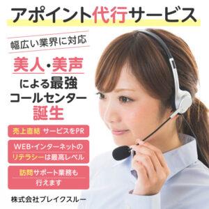 【美人・美声による最強コールセンター誕生!!】