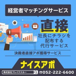 【ナイスアポ】アポイント獲得サービス!!