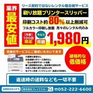 【破格的な低価格!!】フルカラー印刷し放題